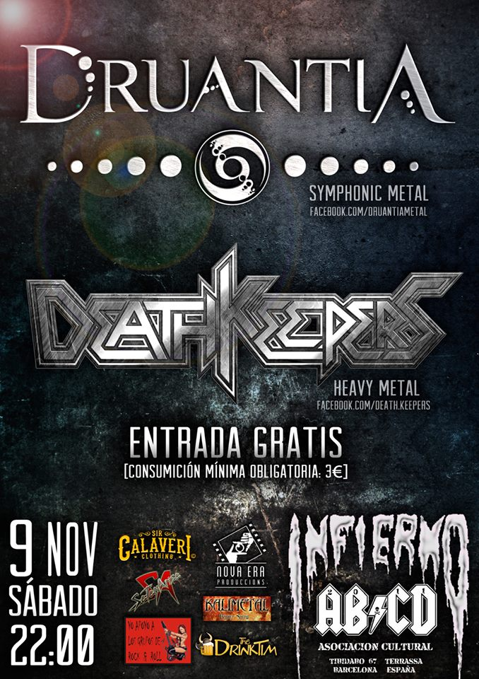 Death Keepers + Druantia Infierno (Terrassa (Barcelona))