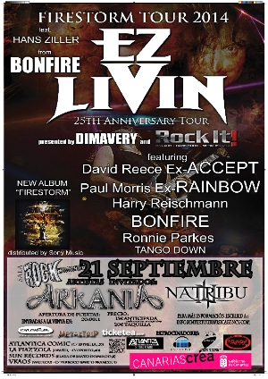 Ez Livin + Arkania + Natribu We Rock (Madrid)