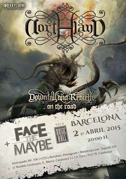 Northland + Face the Maybe Music Hall (Barcelona)