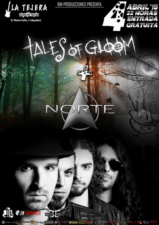 Tales of Gloom + Norte La Tejera (Aguilas)