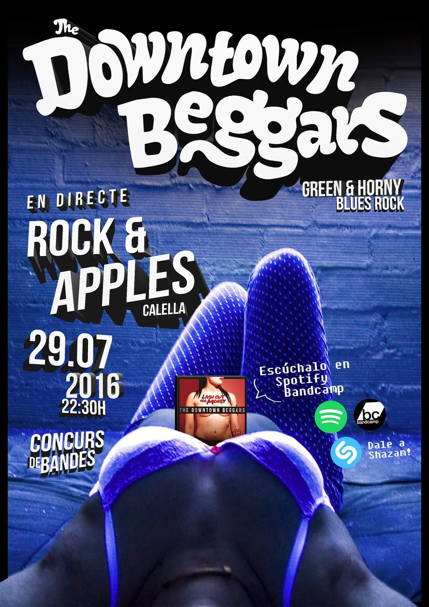 The Downtown Beggars Rock & Apples (Calella (Barcelona))