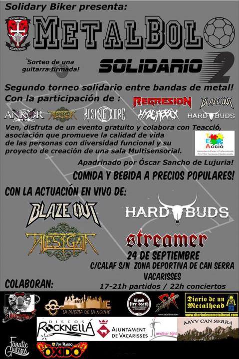 Streamer + Blaze Out + Tales of Gaia + Hard Buds AAVV Can Serra (Vacarisses)
