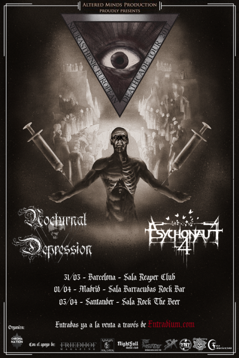 Nocturnal Depression + Psychonaut 4 Reaper Club (Barcelona)