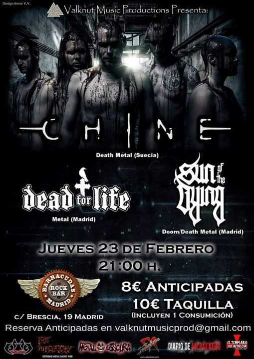 Chine + Dead for life + Sun of the Dying Barracudas (Madrid)
