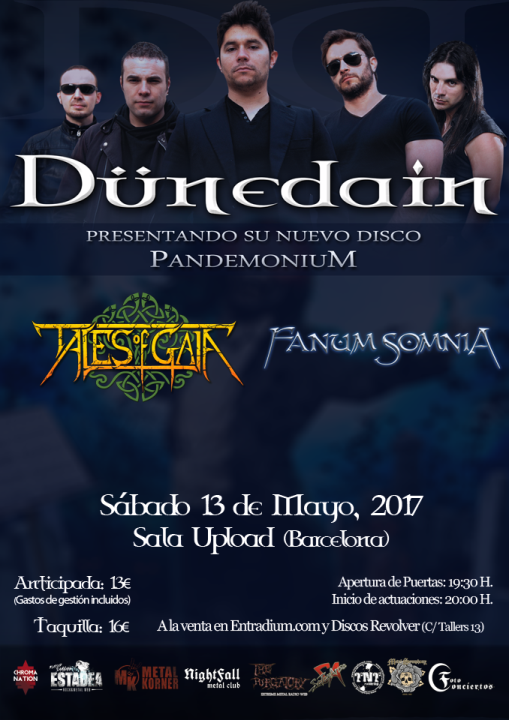 Dünedain + Tales of Gaia + Fanum Somnia Upload (Barcelona)