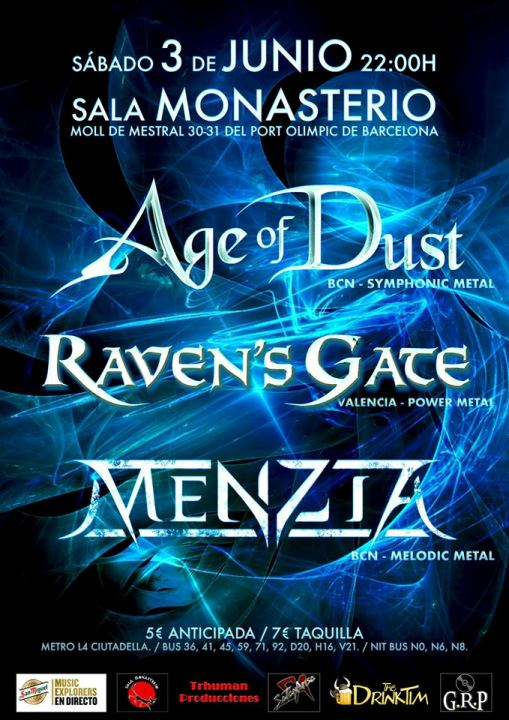 Age of Dust + Raven's Gate + MeNZia