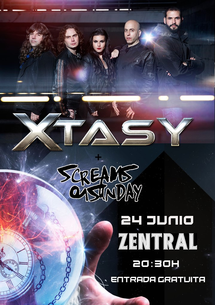 Xtasy + Screams on Sunday Zentral (Pamplona)