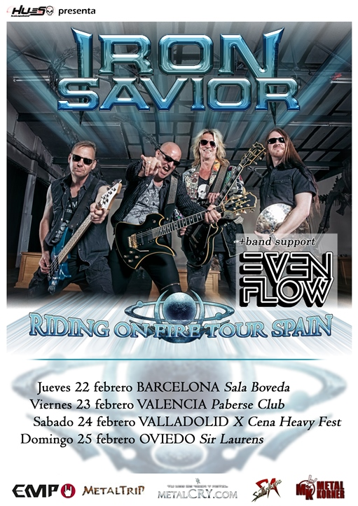 Iron Savior + Even Flow Sir Laurens (Oviedo)