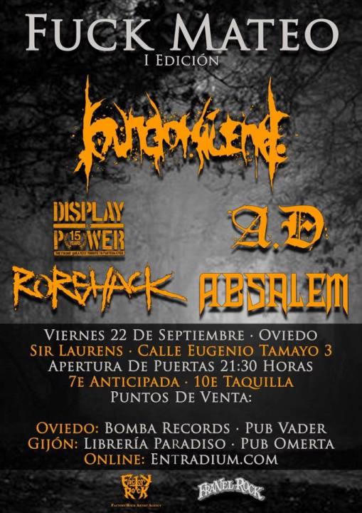 Sound of Silence + Display of Power + A.D. + Rorshack + Absalem