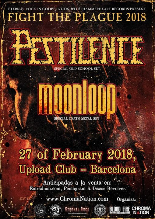 Pestilence + Moonloop Upload (Barcelona)