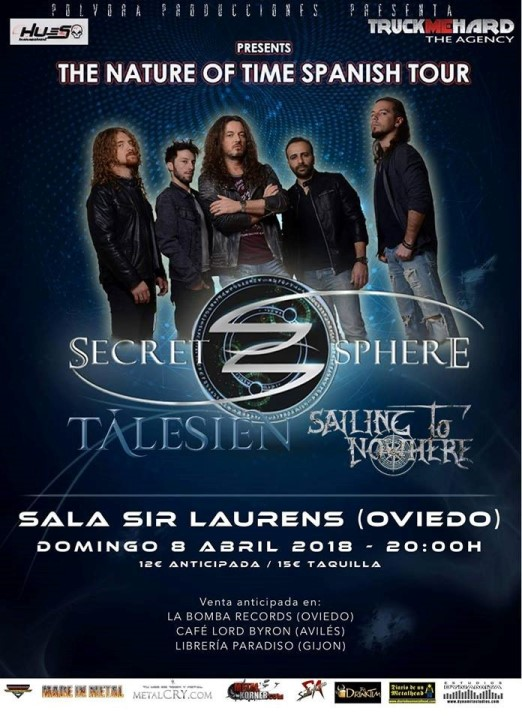 Secret Sphere + Sailing to Nowhere + Talesien Sir Laurens (Oviedo)