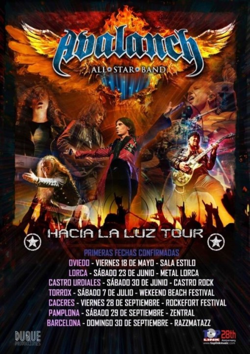 Avalanch All Star Bands Metal Lorca (Lorca)