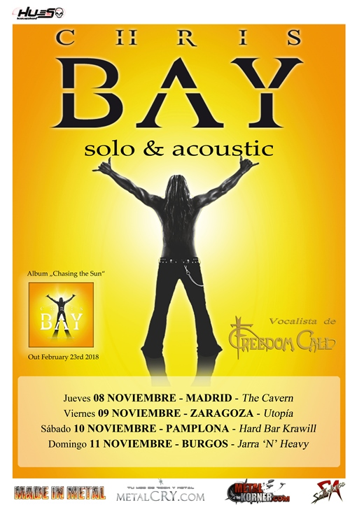 Chris Bay Jarra'N'Heavy (Burgos)