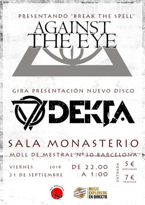 Against The Eye + Dekta