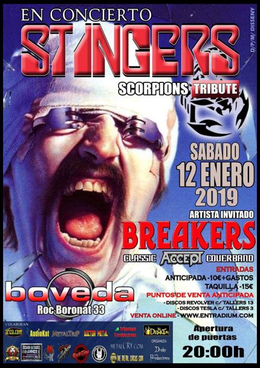 Stingers + Breakers Bóveda (Barcelona)