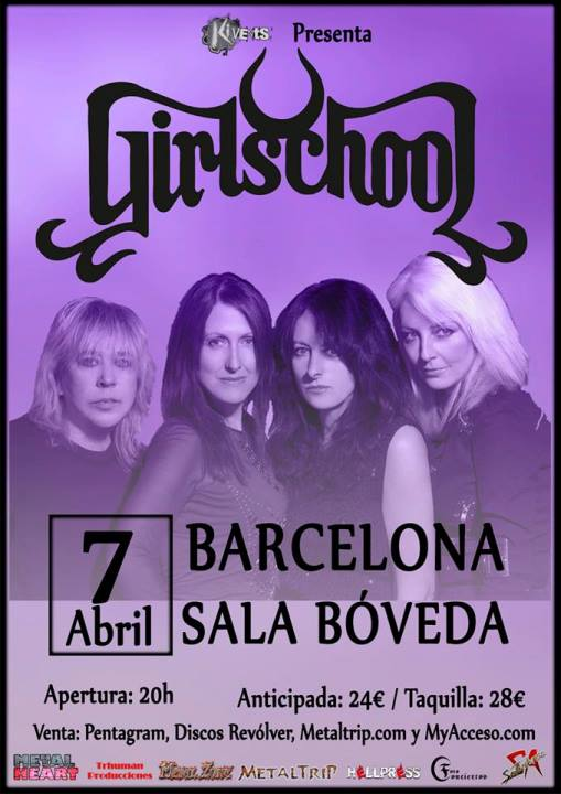 Girlschool Bóveda (Barcelona)