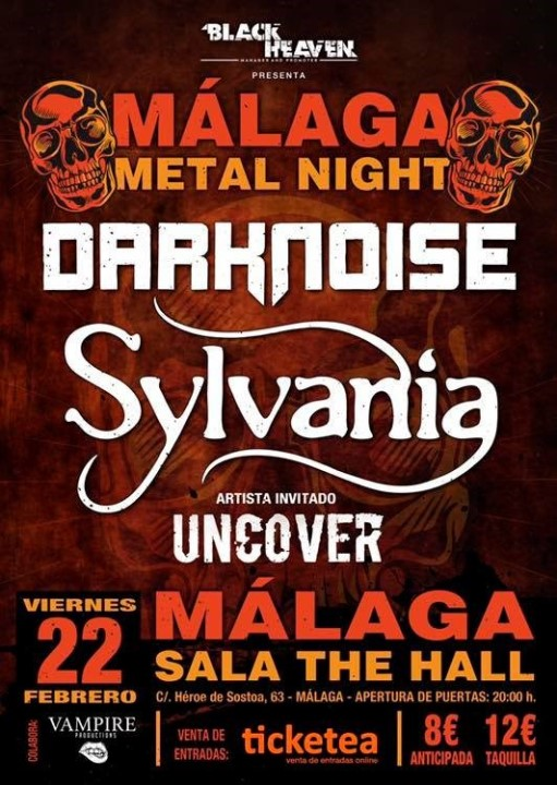 Darknoise + Sylvania + Uncover