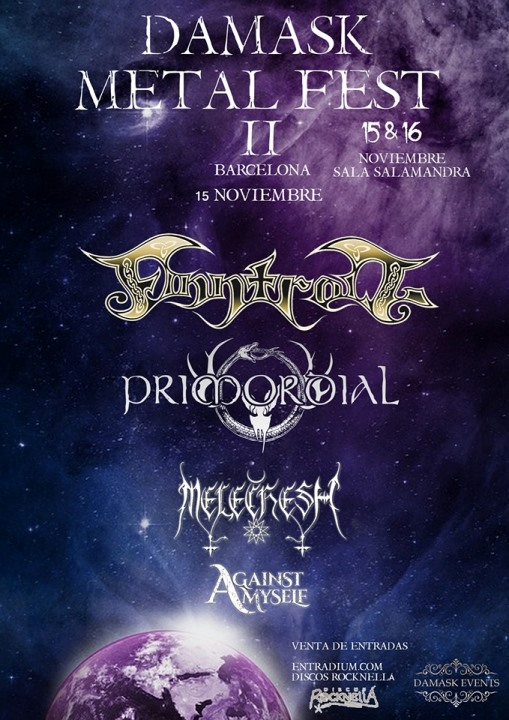 Finntroll + Primordial + Melechesh + Against Myself