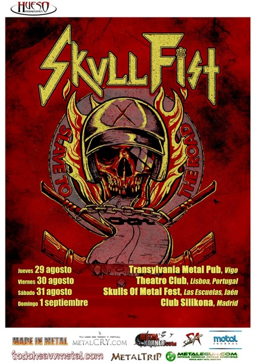 Skull Fist Silikona (Madrid)