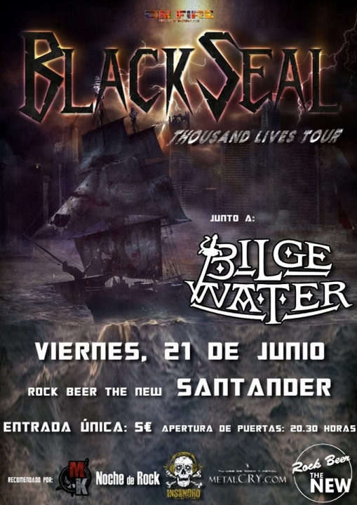 Black Seal + Bilge Water Rock Beer The New (Santander)