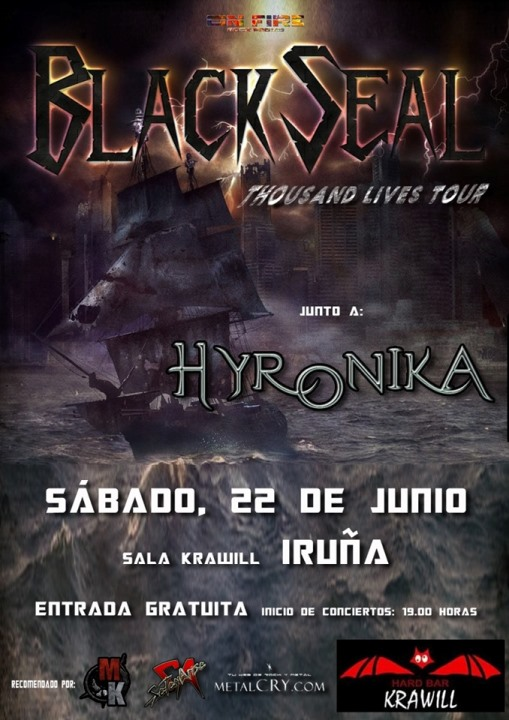Black Seal + Hyronika Krawill (Iruña)
