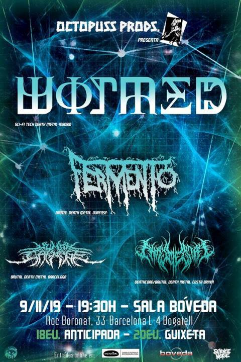 Wormed + Fermento + Human Carnage + Phrymerial