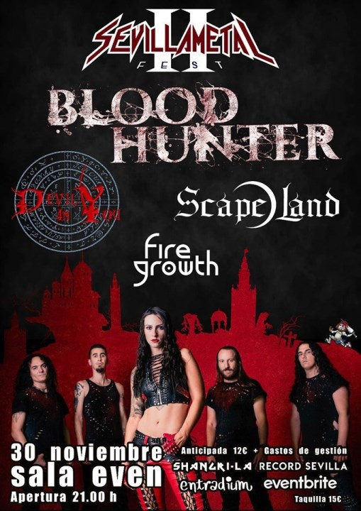 Bloodhunter + Scape Land + Devil in You + Fire Growth