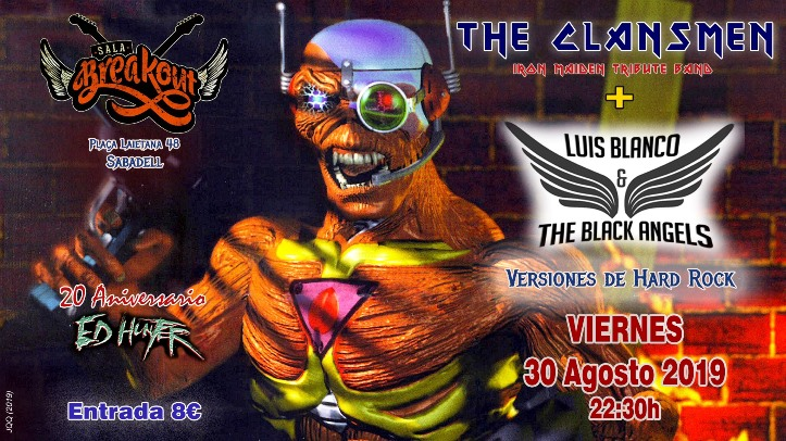 The Clansmen + Luis Blanco & The Black Angels Breakout (Sabadell)
