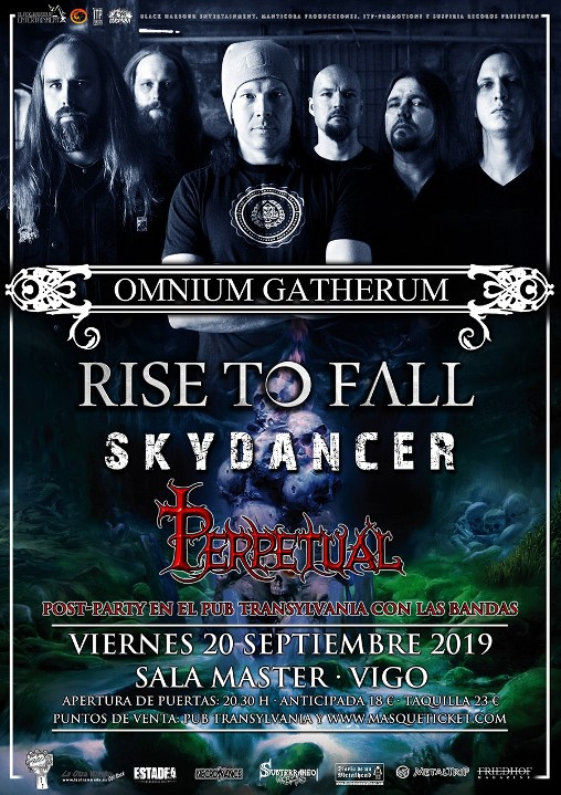 Omnium Gatherum + Rise to Fall + Skydancer + Perpetual