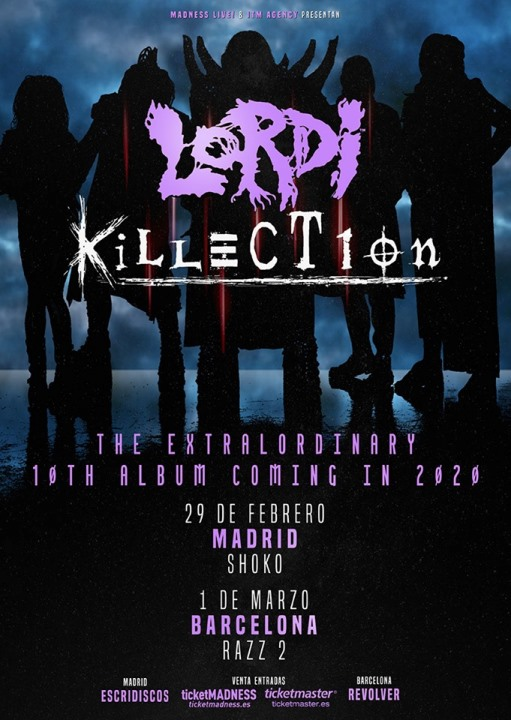 Lordi + Killection Shoko (Madrid)
