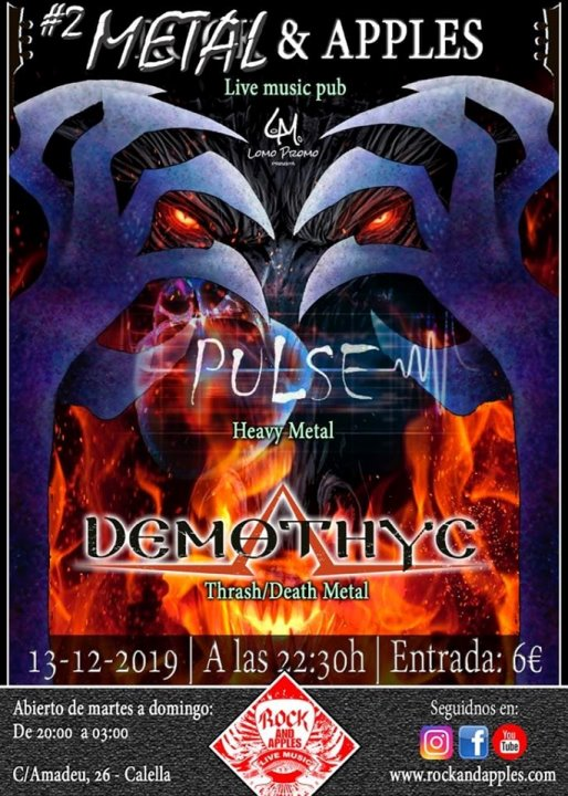 Pulse + Demothyx Rock & Apples (Calella)