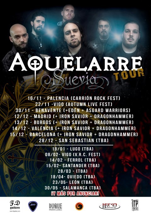 Iron Savior + Dragonhammer + Aquelarre Sound Stage (Madrid)