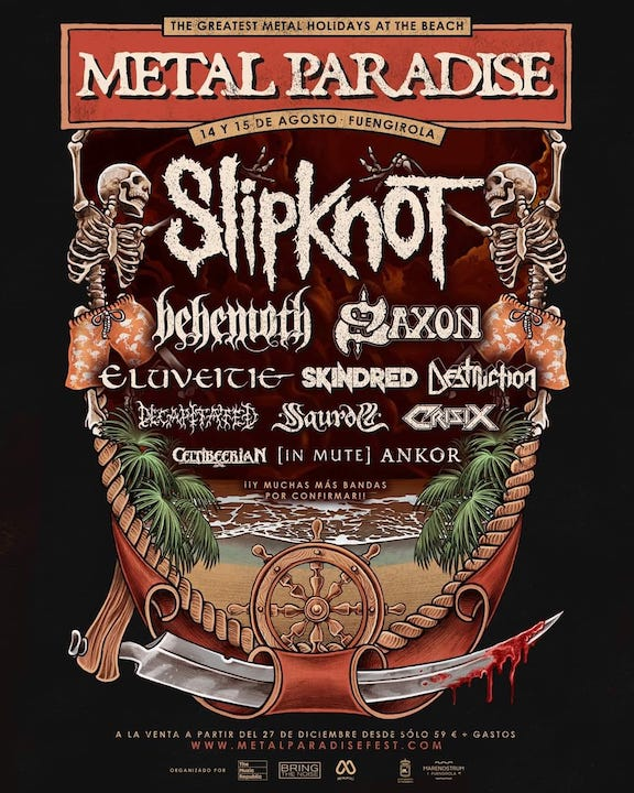 Behemoth + Eluveitie + Skindred + Decapitated + Crisix + Celtibeerian
