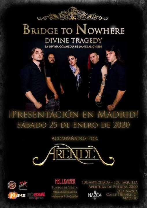Bridge to Nowhere + Arendel Nazca (Madrid)