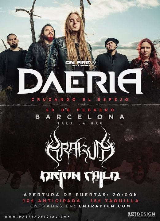 Daeria + Drakum + Orion Child La Nau (Barcelona)