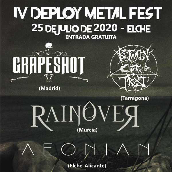 Grapeshot + Between the Frost + Rainover + Aeonian