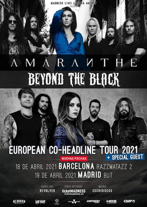 Amaranthe + Beyond the Black Razzmatazz 2 (Barcelona)