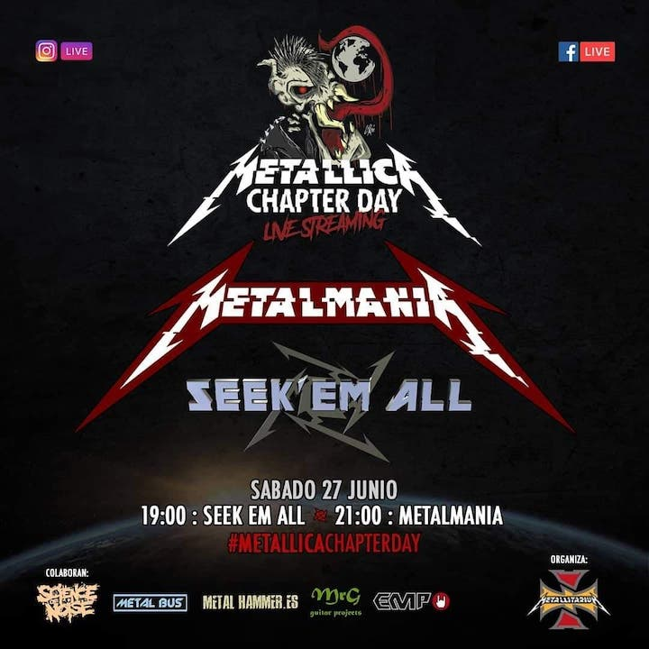 MetalmaniA + Seek' em All