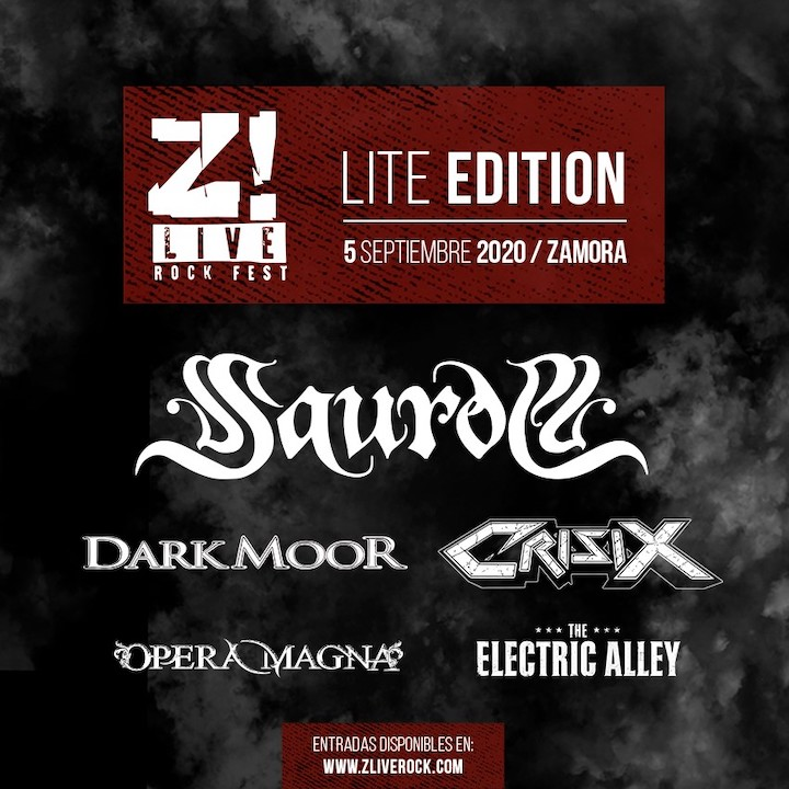Saurom + Dark Moor + Crisix + Opera Magna + The Electric Alley