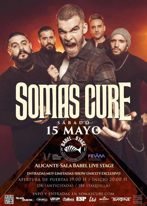 Somas Cure Babel Live Stage (Alicante)