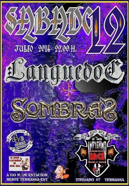 SombraS + Languedoc - 12/07/2014 ABCD (Terrassa)
