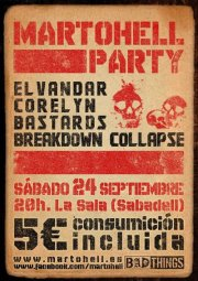 Bastards + Corelyn + Elvandar + Breakdown Collapse - 24/09/2011 La Sala (Sabadell)