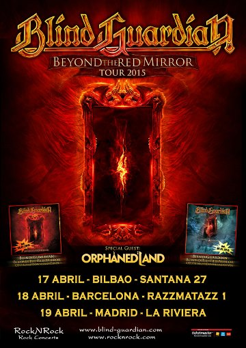 Orphaned Land + Blind Guardian - 18/04/2015 Razzmatazz (BCN)