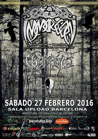 Immorgon + Wargaz + White Raven - 27/02/2016 - Sala Upload (Bcn)