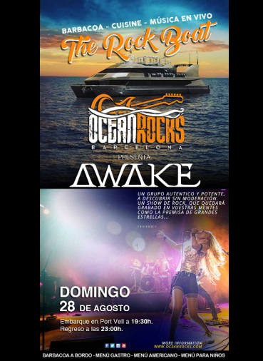 Awake - 28/08/2016 - The Rock Boat (Barcelona)