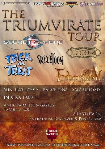 DGM + Secret Sphere + Trick or Treat + Skeletoon + Embersland - 02/04/2017 - Upload (Bcn)