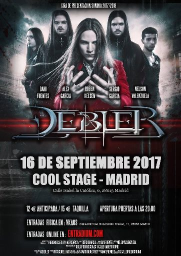 Debler - 16/09/2017 - Cool Stage (Madrid)