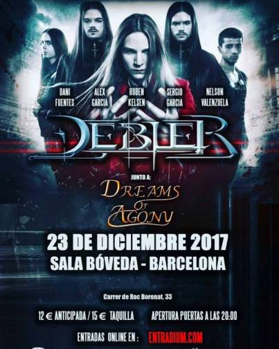 Debler + Dreams of Agony - 23/12/2017 - Sala Bóveda (Barcelona)