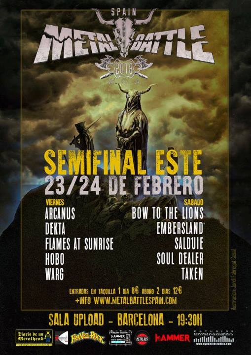 W:O:A: MB Spain - Semifinal Este - 23-24/2/2018 - Sala Upload (Bcn)