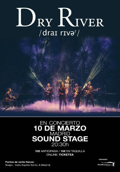 Dry River - 10/03/2018 - Sala Sound Stage (Madrid)